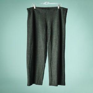 Eileen Fisher XL Dark Grey Wool Pants